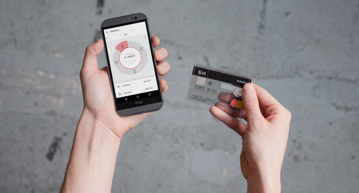 Bank Account — N26 Europe