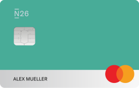 N26 You card, Teal.