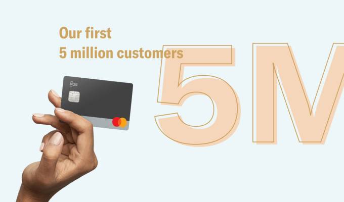 Our first 5 million customers.