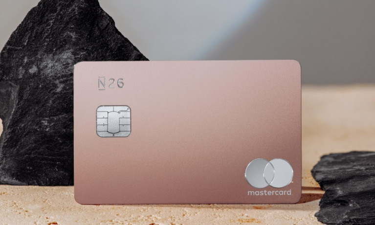 N26 Metal Card Quartz Rose