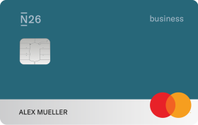 N26 You Business Karte, Ozean.