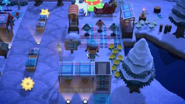 Animal Crossing by night.