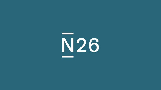 N26 logo against a turquoise background.