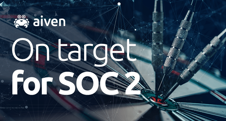 Aiven preparing for SOC 2 compliance hero image