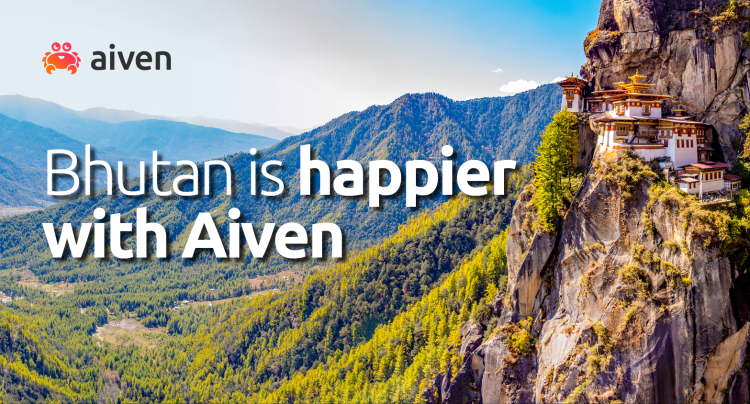 Aiven enhances happiness in the Himalayas [Customer Story] hero image