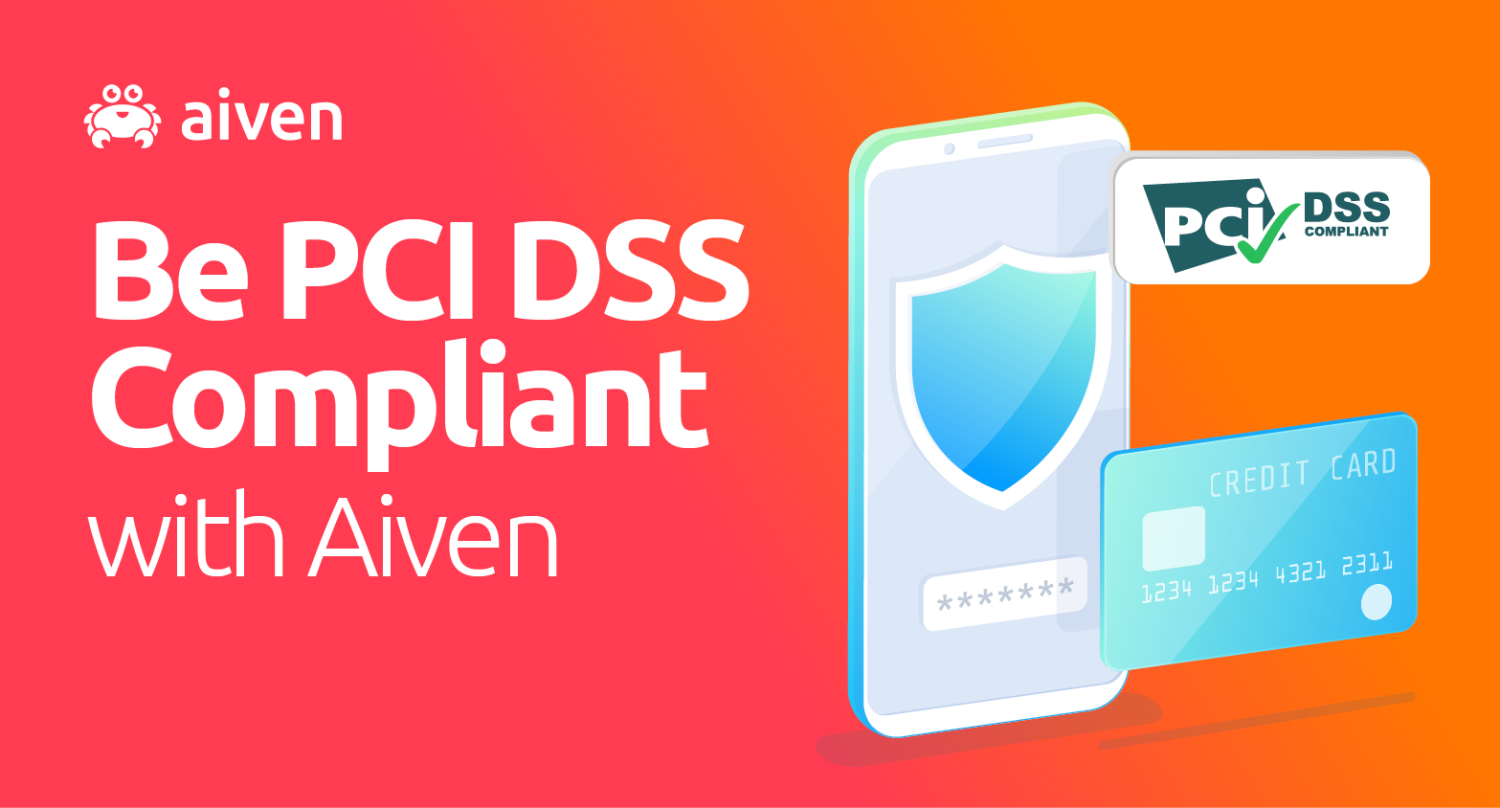 Aiven services are now PCI-DSS compliant hero image