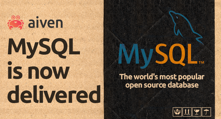 Aiven MySQL now ready for preview [UPDATE] hero image