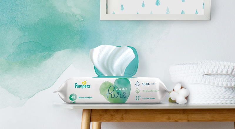 Pampers® Aqua Pure