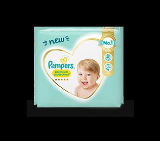 Pampers Premium Protection voor zachtheid & bescherming