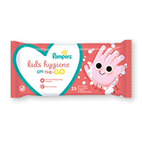 Pampers® Kids Hygiene on-the-go doekjes