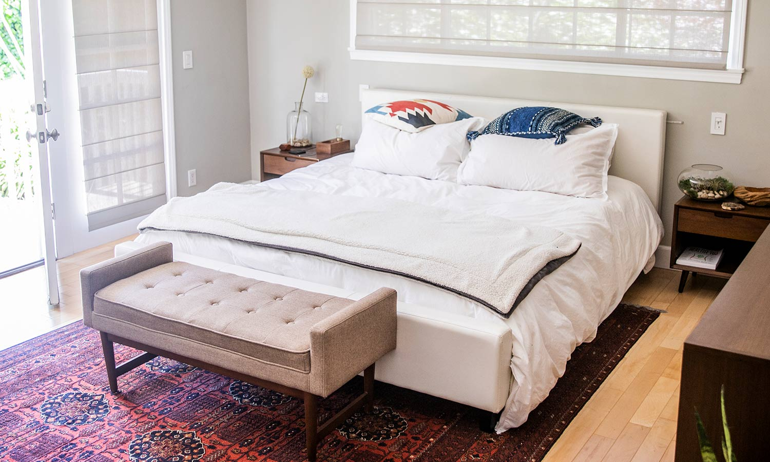 A california king bed