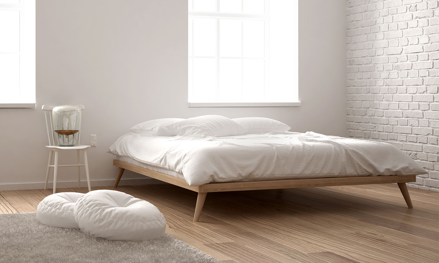 63 simple bed frame