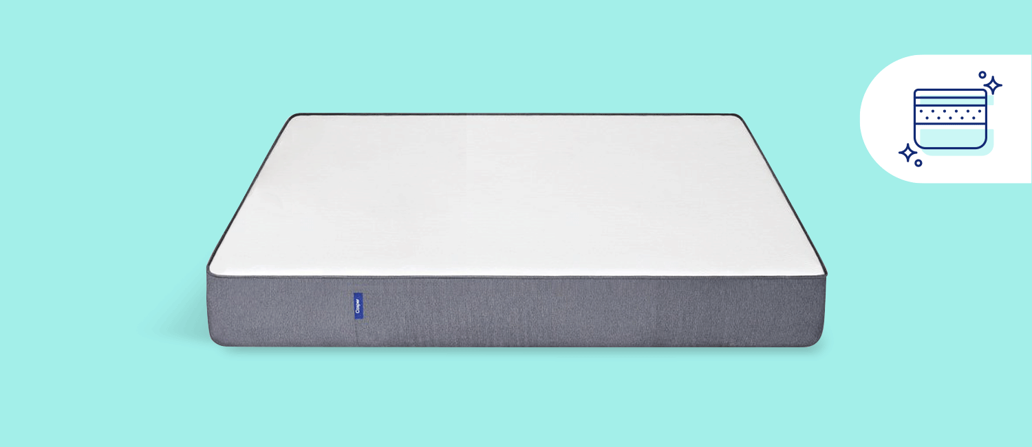 A Casper memory foam mattress