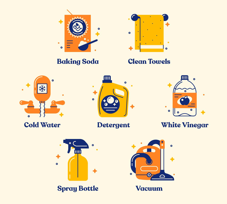 mattress-cleaning-materials