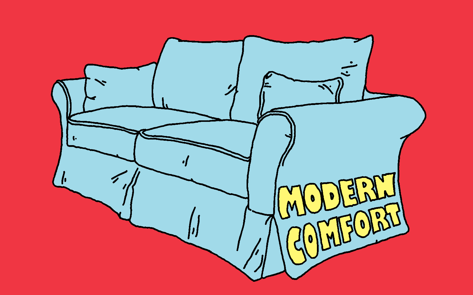 An illustration of a couch.