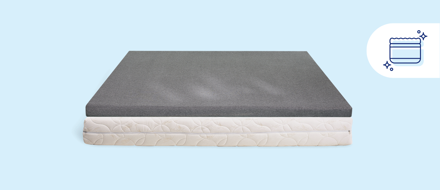 Stock photo of a Casper mattress topper