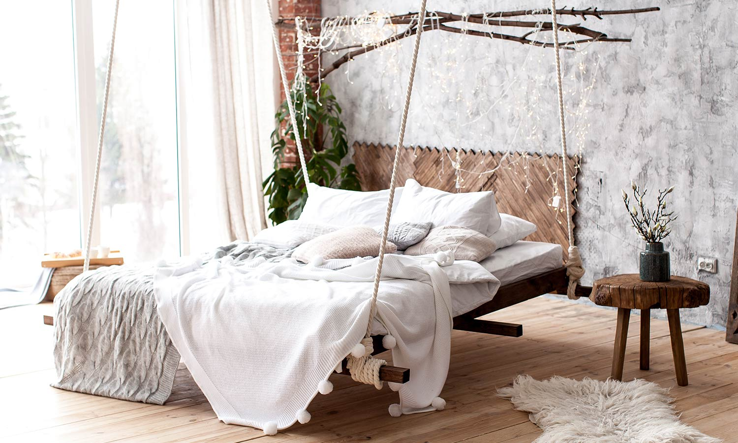 25 hanging bed