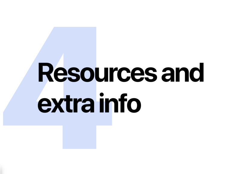 Image Header | 4.0 Resources and extra info