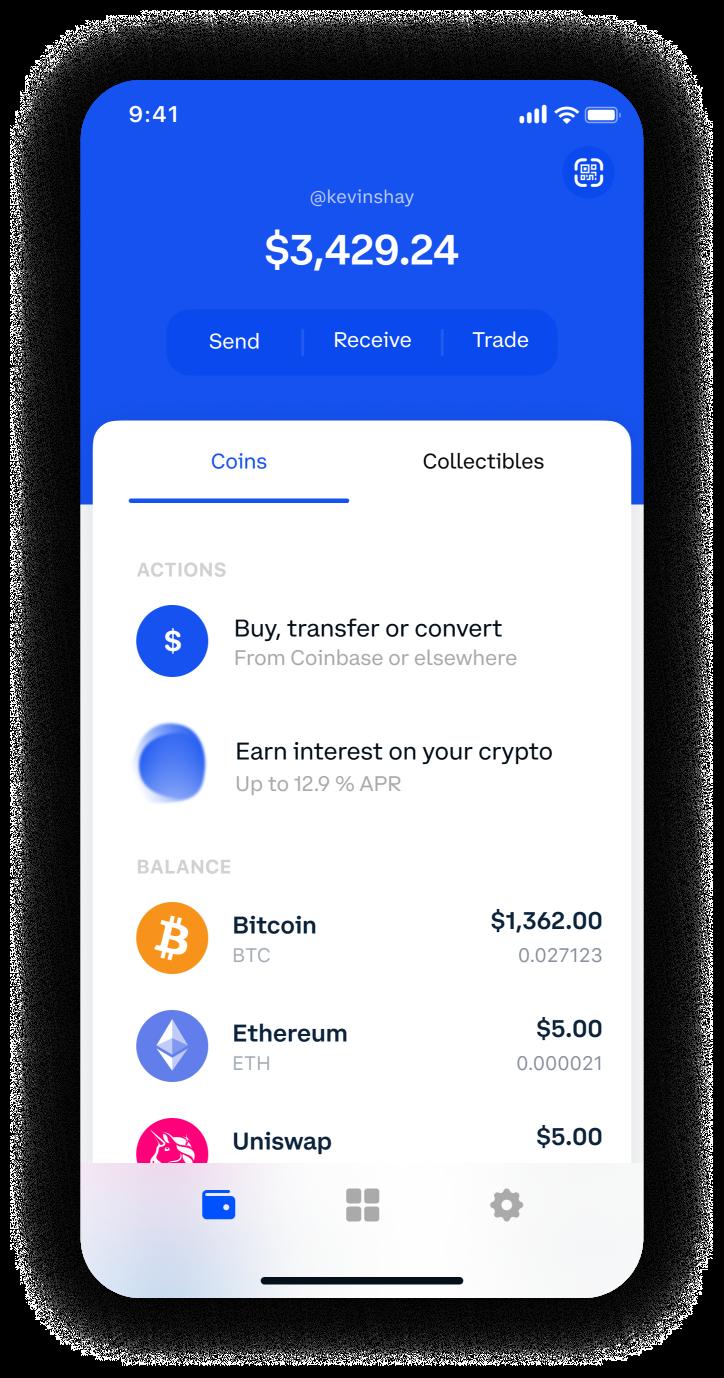 Wallet interface