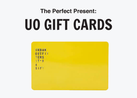 Gift Card By Post Urban Outfitters Uk