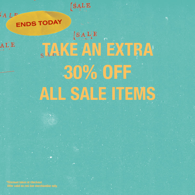 a63af4f294e Take an Extra 30% Off Sale Items