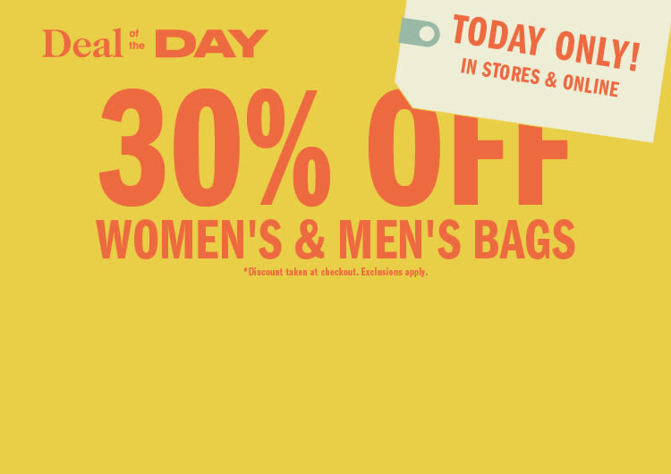 ac9994bfe2e8 Deal of the Day  30% Off Bags