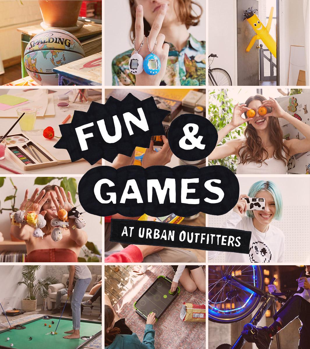 Shop fun games
