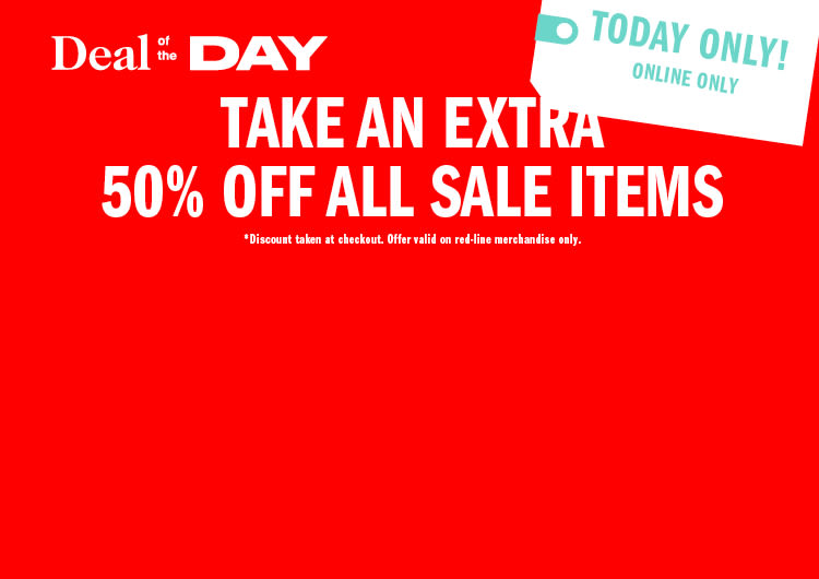 41548fdd624 Deal of the Day  50% Off Sale Items