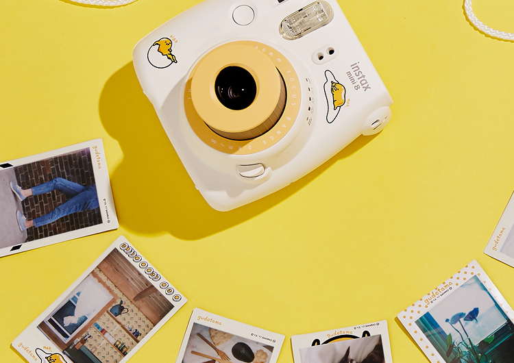 Polaroid Camera Urban Outfitters : Fujifilm gudetama by sanrio the lazy egg collection urban