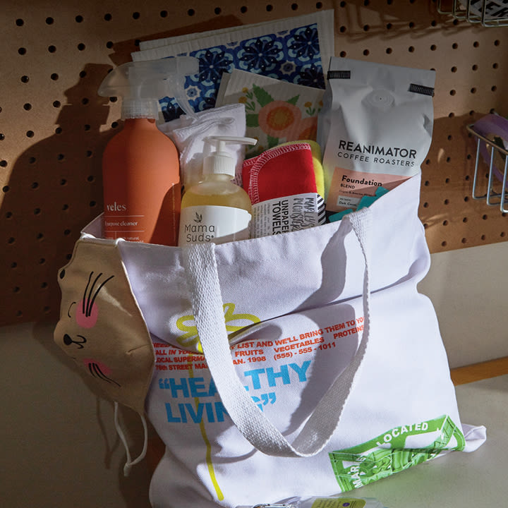 NA - Giveaway - Graphic Tote Bag & Household Essentials - 439 - Image