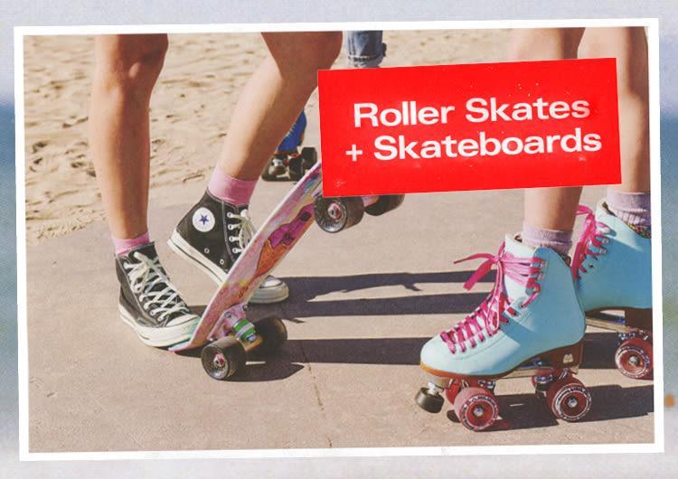 Roller Skates + Skateboards 7c0bc30f30a