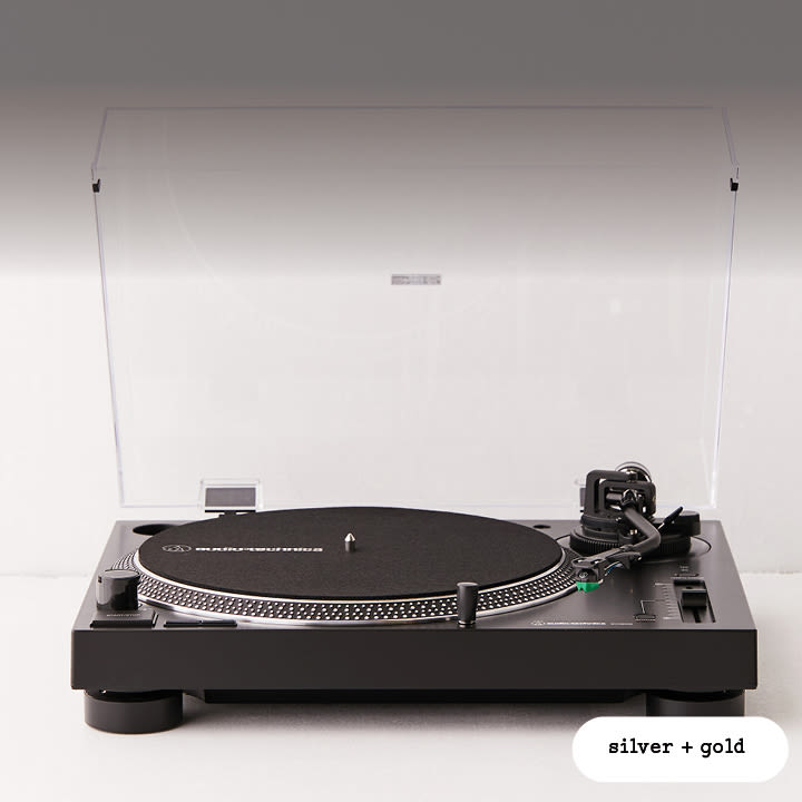 NA - Giveaway - Audio Technica and Vinyl - 402 (Silver/Gold) - Image