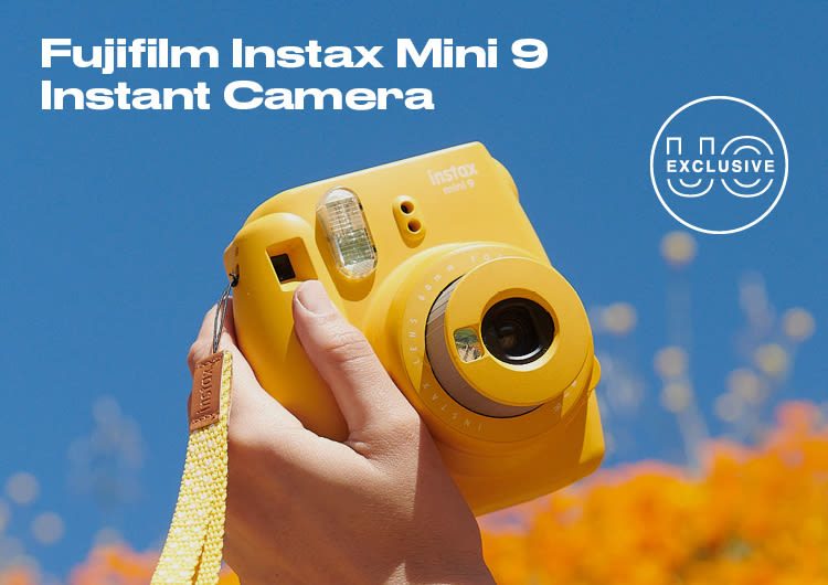 54232eff12a Fujifilm Instax Mini 9 Instant Camera in fresh spring colors Only at UO