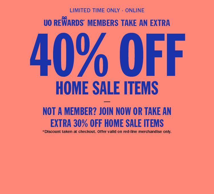 UO Rewards Members Take 40% Off Home Sale Items 39e9965874