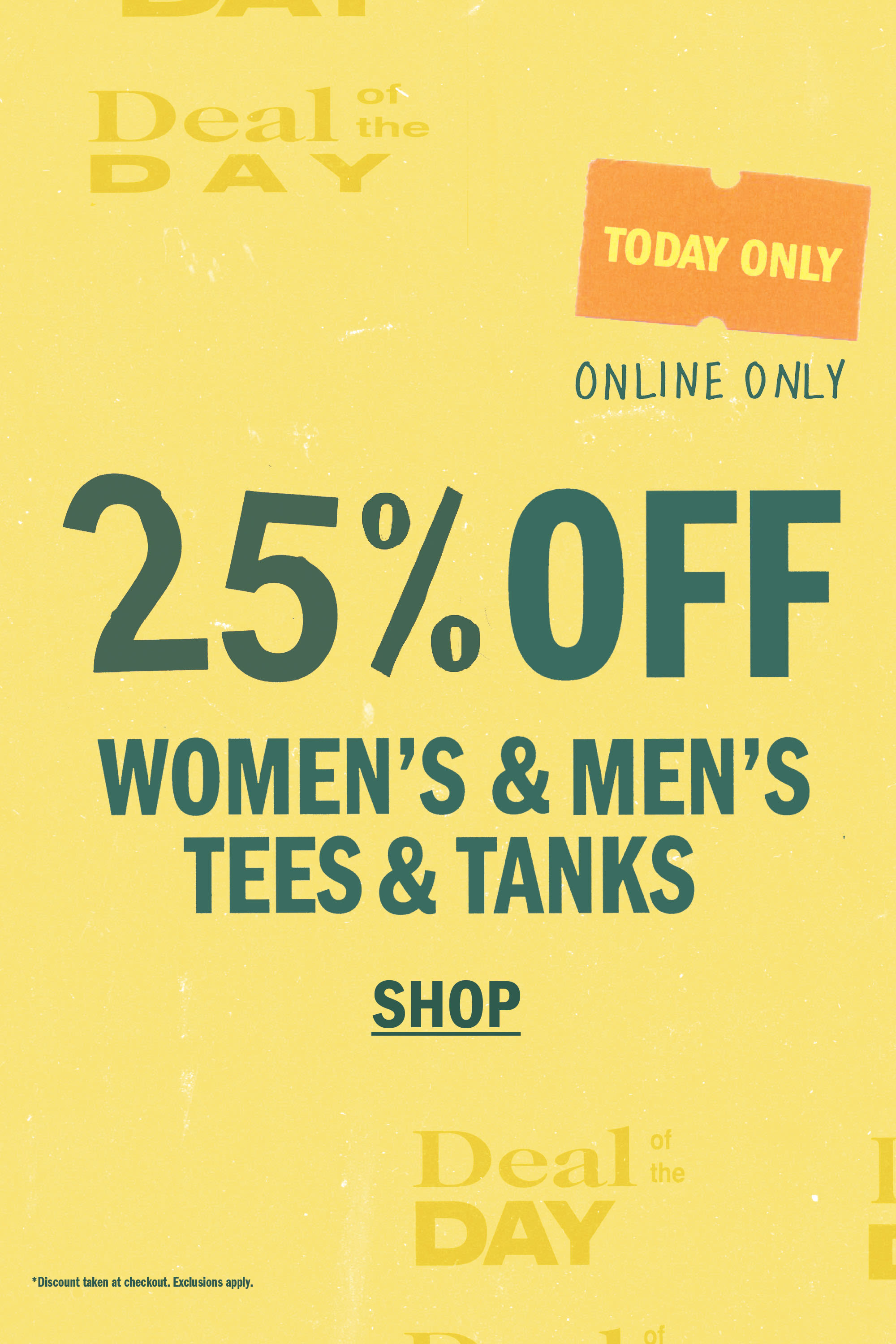 5dff78283a7fb 25% Off Women s   Men s Tees and Tanks ...