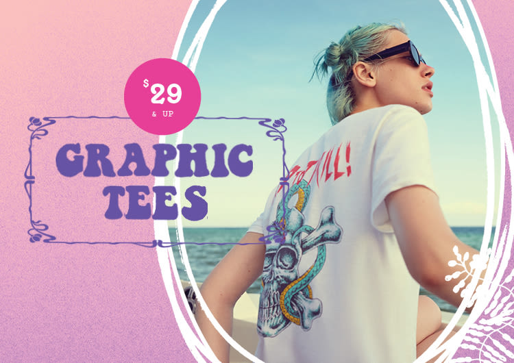 cf27e283 Graphic Tees for Women   Urban Outfitters Canada