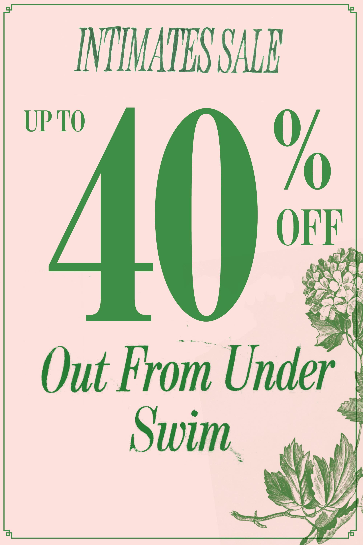 da5a2246066c3 Intimates Sale. Out From Under Deep Plunge Bikini Top