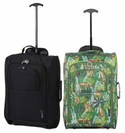 5 Cities Set of 2 Super Lightweight Cabin Approved Luggage