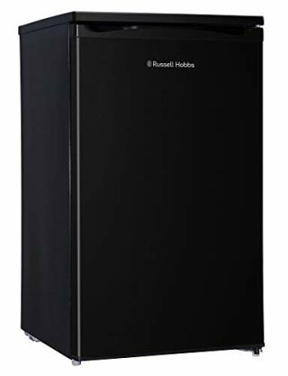 Russell Hobbs Black Under Counter 50cm Wide Freestanding Larder Fridge RHUCLF2B