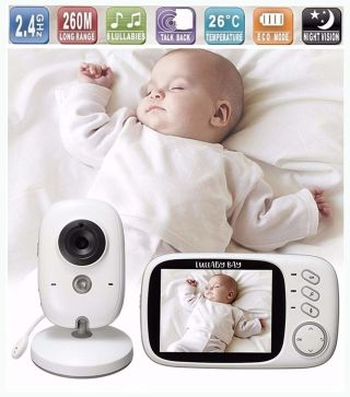 Lullaby Bay Video Baby Monitor with Camera