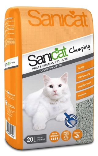 Sanicat Clumping Absorbent Cat Litter