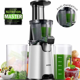 Aicok Juicer Auger Slow Masticating - JE6008
