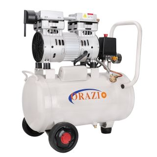 ORAZIO Ⓡ 241184 Low Noise Silent Oiless Air Compressor