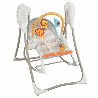 Fisher-Price BFH06 3-in-1 Swing-N-Rocker