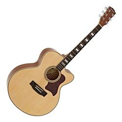 Gear4music Jumbo Acoustic Guitar , Cedar