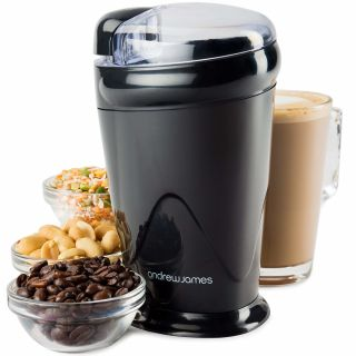 Andrew James Electric Coffee Grinder for Beans Spices Nuts