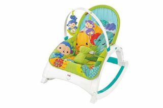 Fisher-Price DMR88 Rainforest Friends Baby Bouncer
