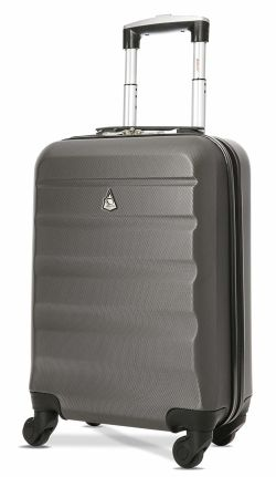 Aerolite Lightweight Suitcase Approved Atlantic