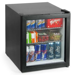 bar@drinkstuff Frostbite Mini Fridge Black