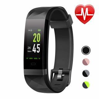 LETSCOM Fitness Tracker ID131Color HR